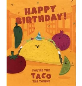 Taco the Town Birthday Card, Philippines