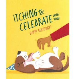 Itching to Celebrate Birthday Greeting Card, Philippines