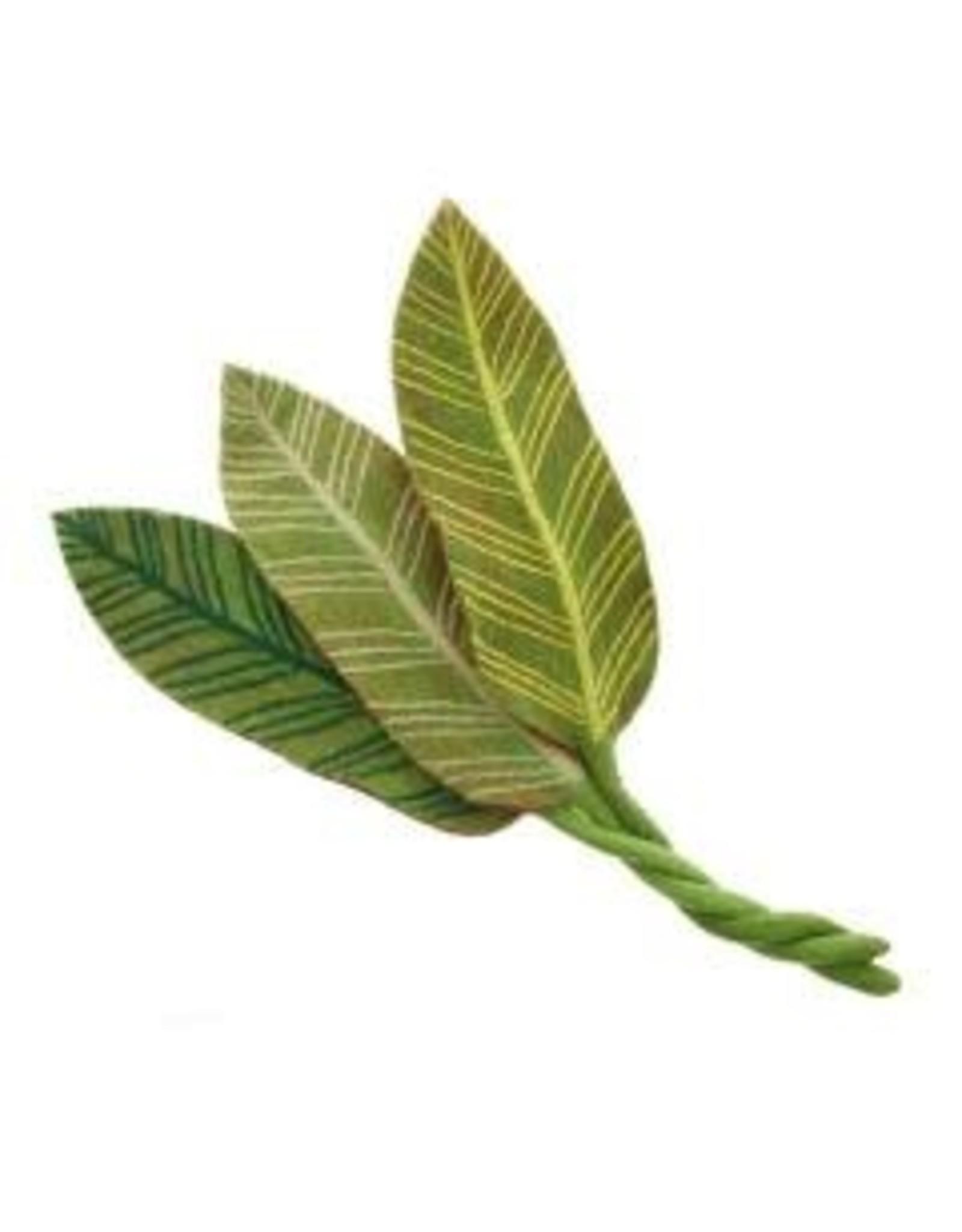 Felt Calathea Leaf White Veins, Nepal