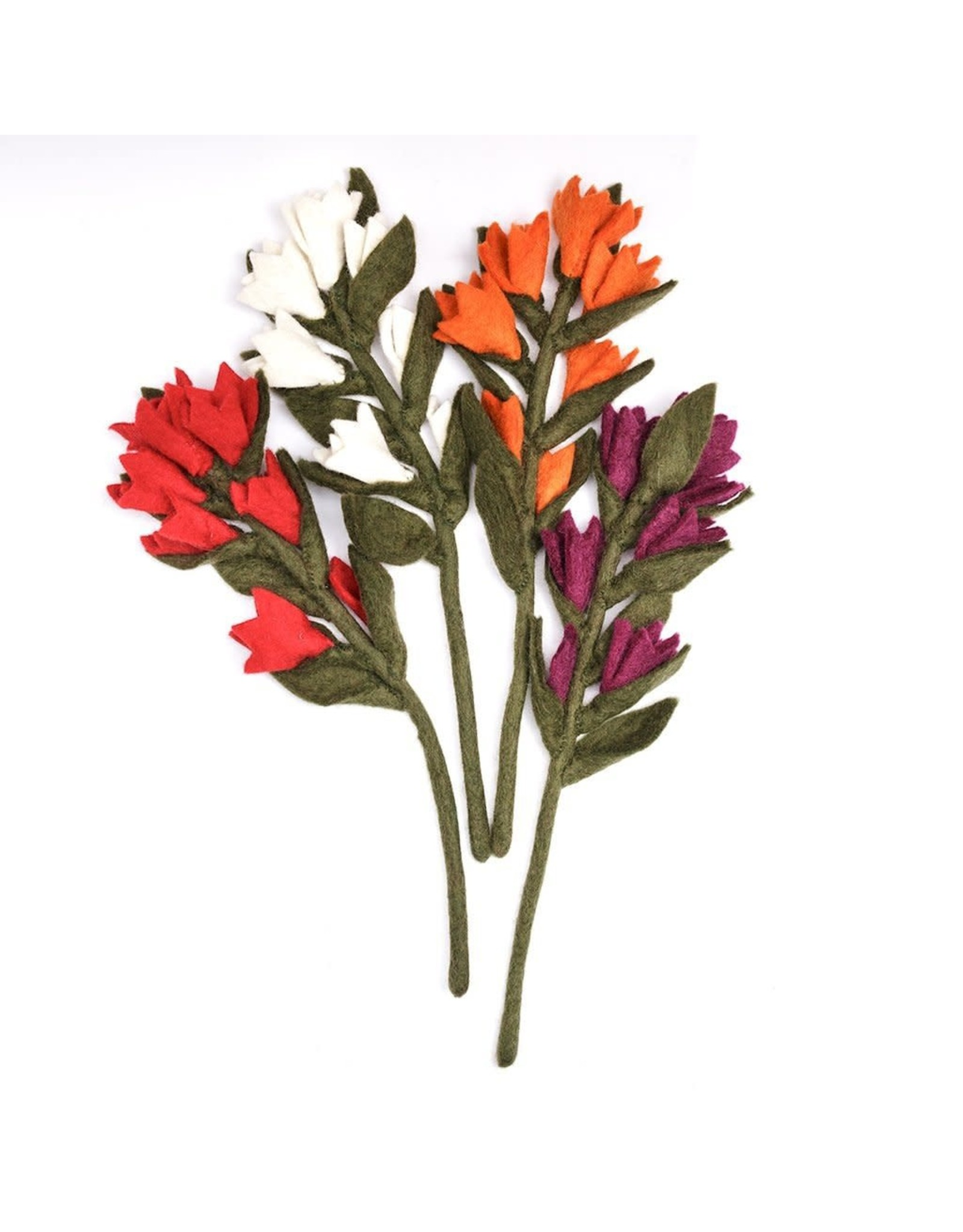 Nepal, Felt Indian Paint Brush