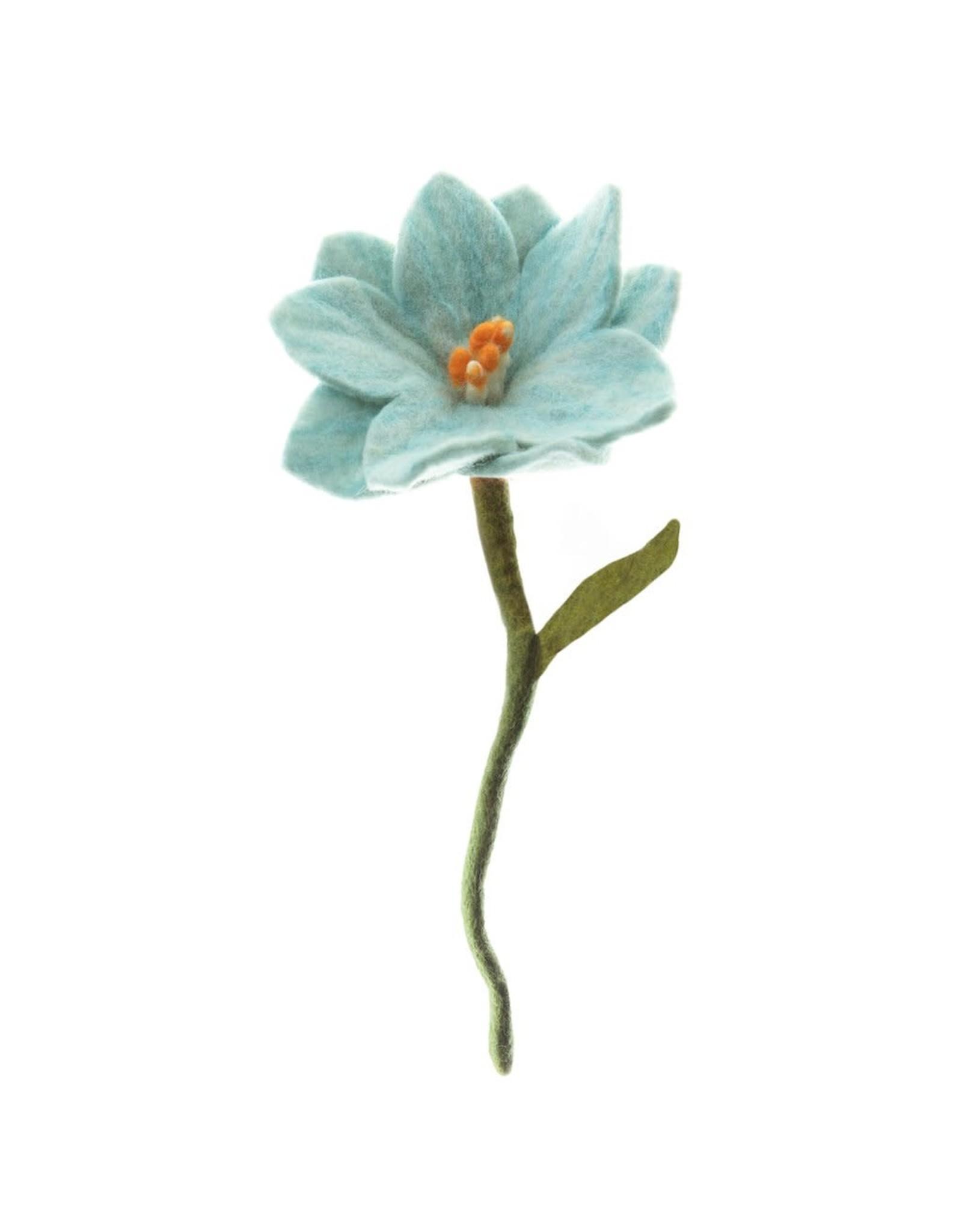 Nepal, Felt Wild Flower