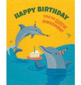 Flippin Dolphin Birthday Greeting Card, Philippines