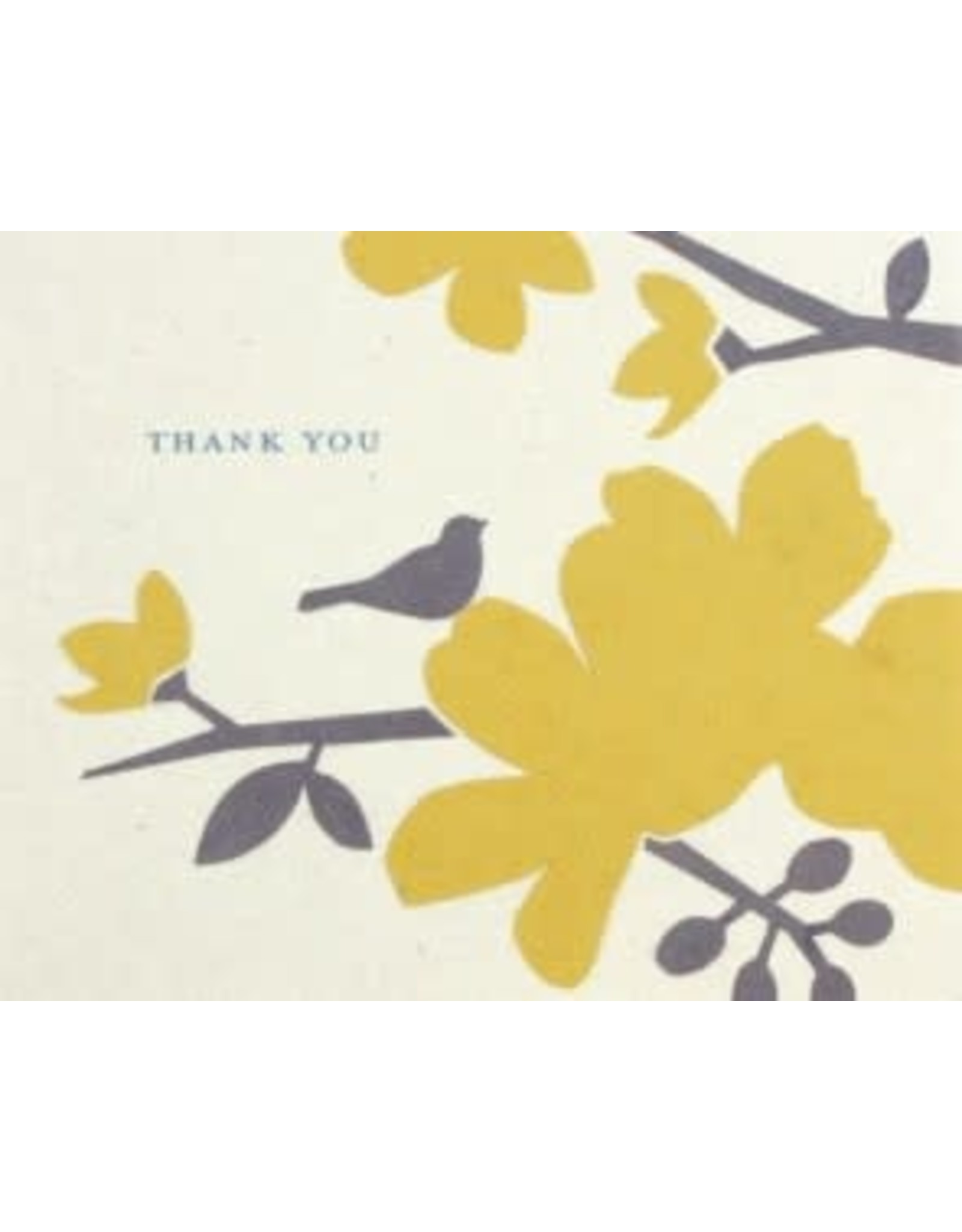 Blooming Thank You Greeting Card