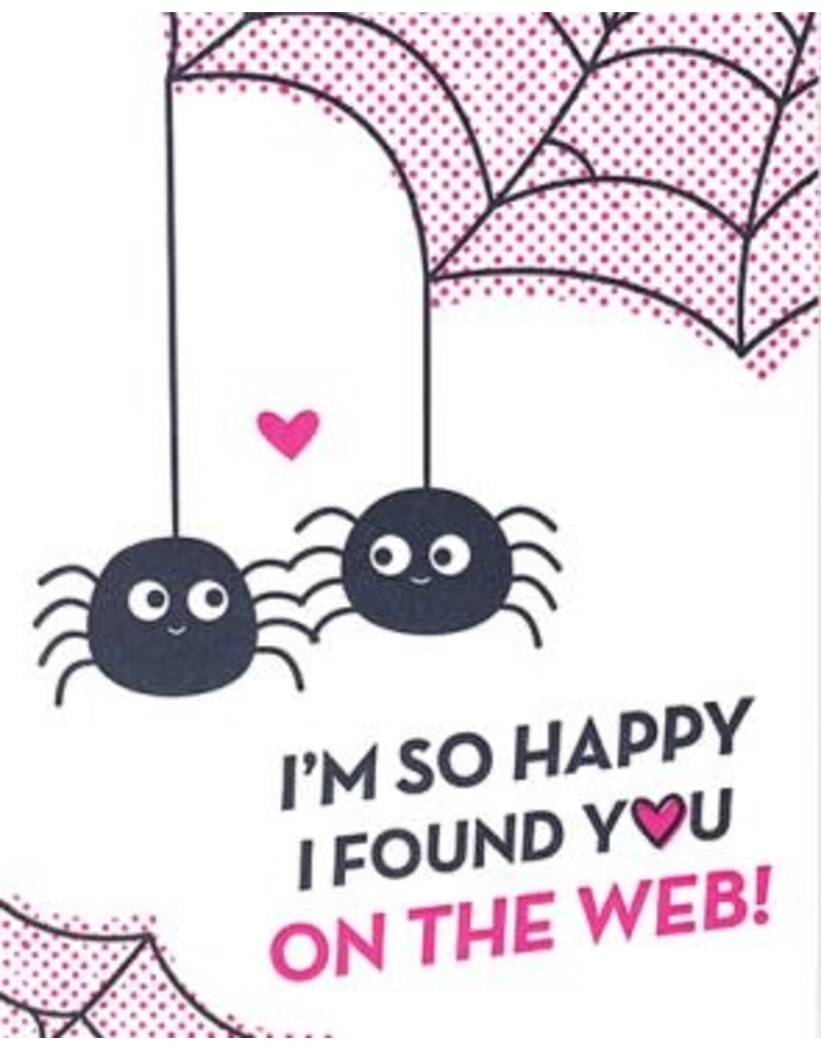 On the Web Love  Greeting Card