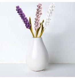 Lavender Felt Flower, Nepal