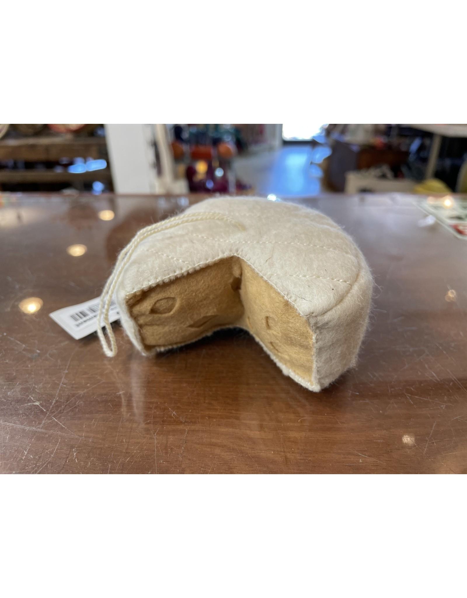 Felt Ornament Brie Cheese, Kyrgyzstan