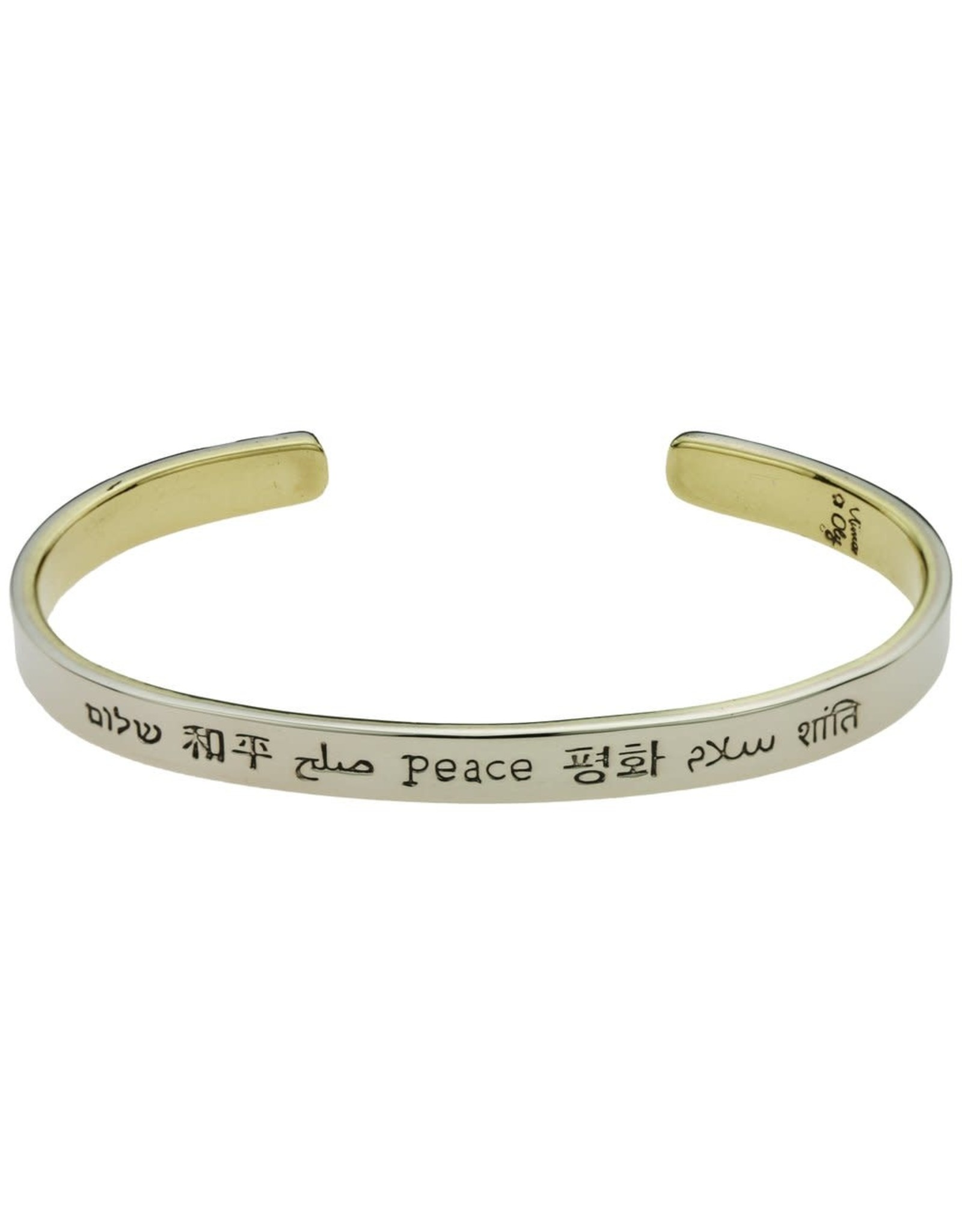 Peace In Many Languages Cuff, Mexico