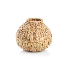 Holland Round Basket Vase,
