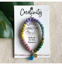 Kantha Connection Bracelet, Creativity, India