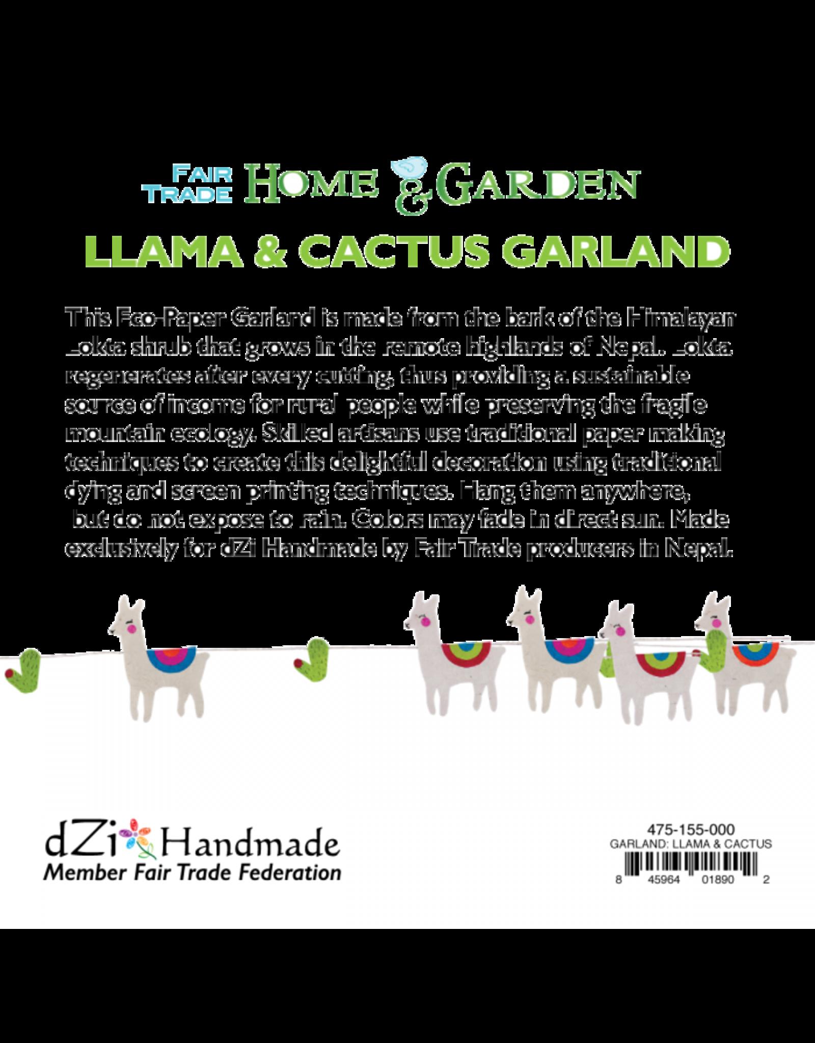Garland,  Llama and Cactus, Nepal