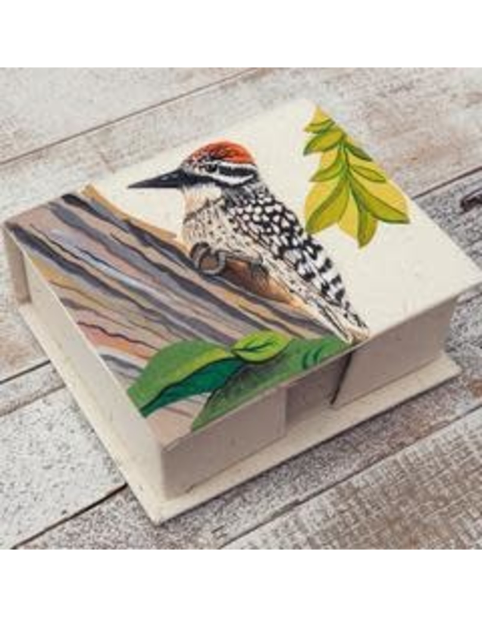 Note Box, Woodpecker, Sri Lanka