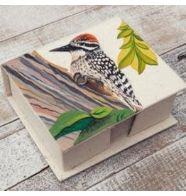 Note Box, Woodpecker, Sri Lanka