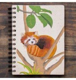 Large Notebook, Red Panda, Sri Lanka