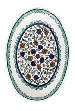 Folklore Ceramic Platter, West Bank