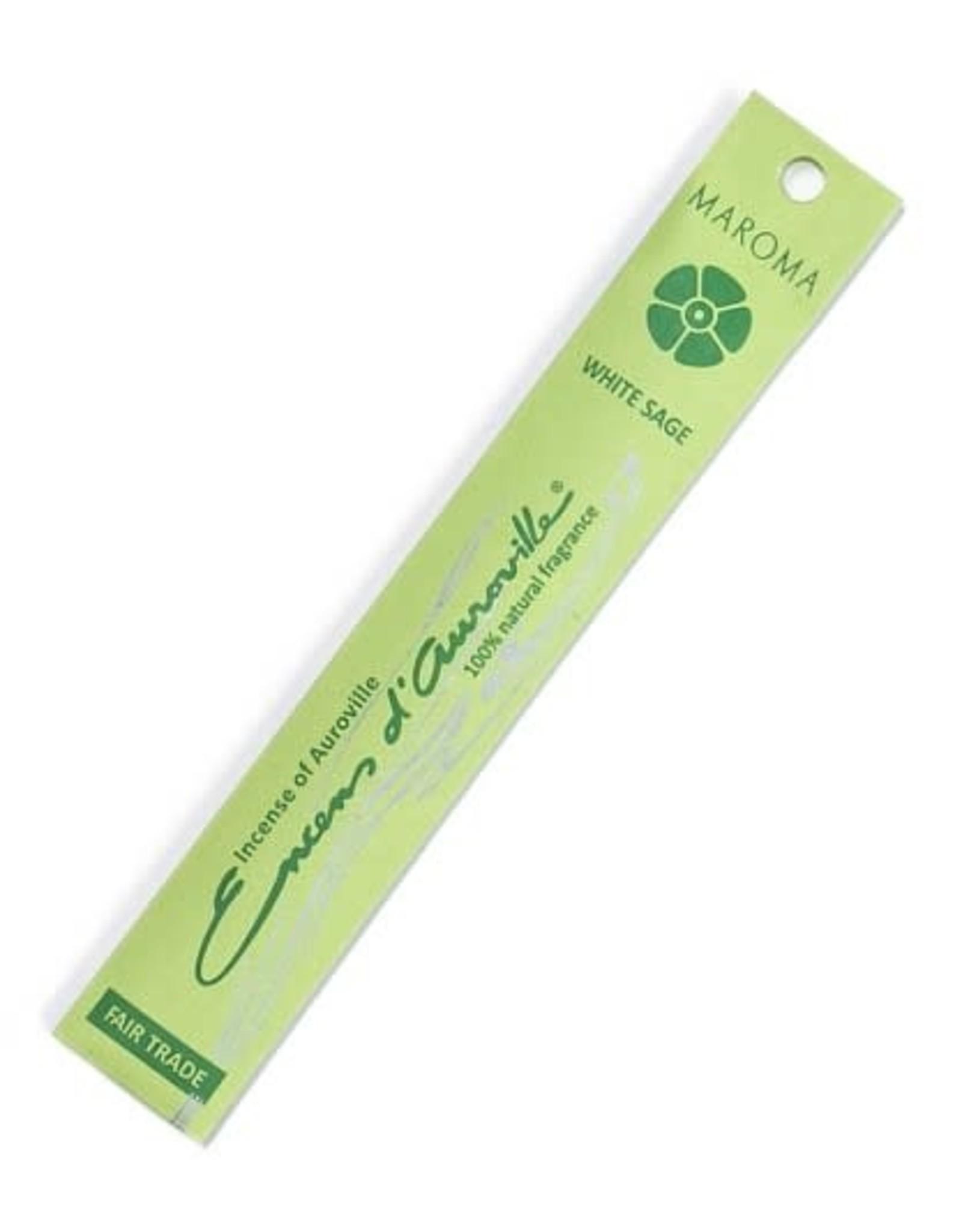 Stick Incense Sticks, White Sage, India