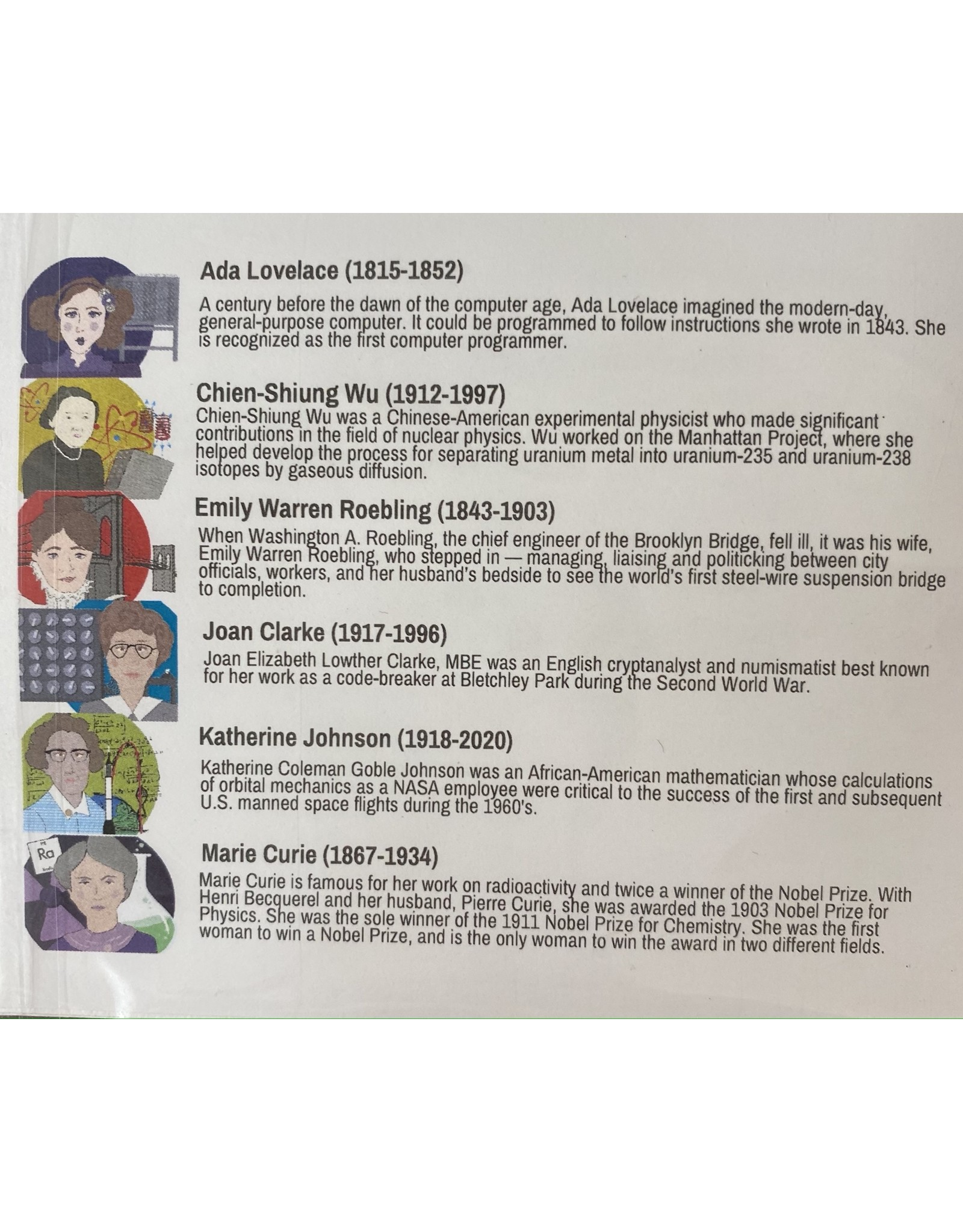 Rosie Riveter, set of 6 stationary cards