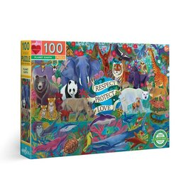 Planet Earth Puzzle, 100 Pieces