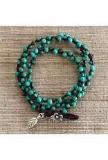Karen Hill Tribe, In the Garden Turquoise Bracelet