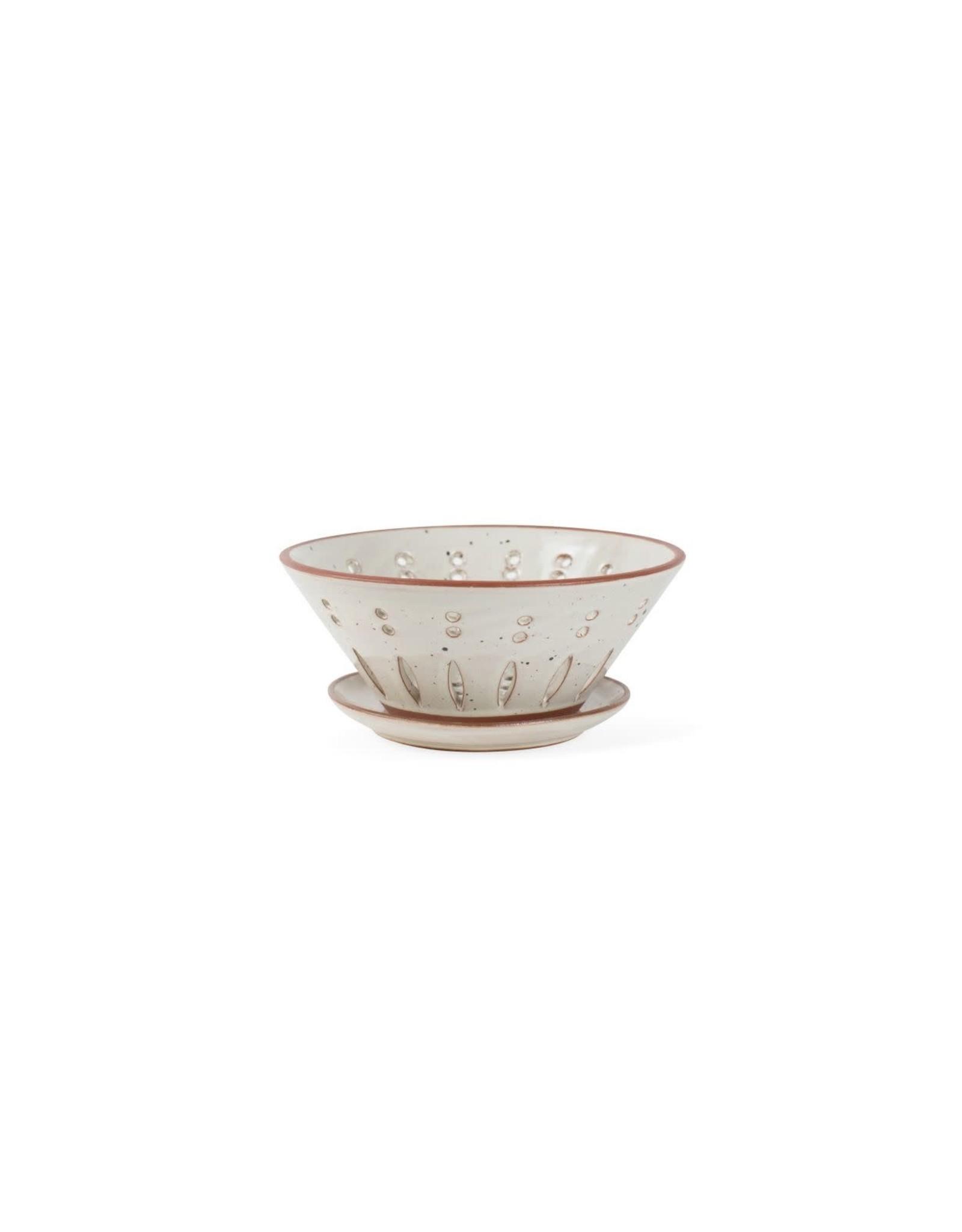 Speckled Ceramic Colander, Nepal