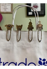 Mixed Metal Paper Clips/ Book Mark