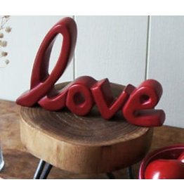 Standing Word,  Love, Red, Kenya
