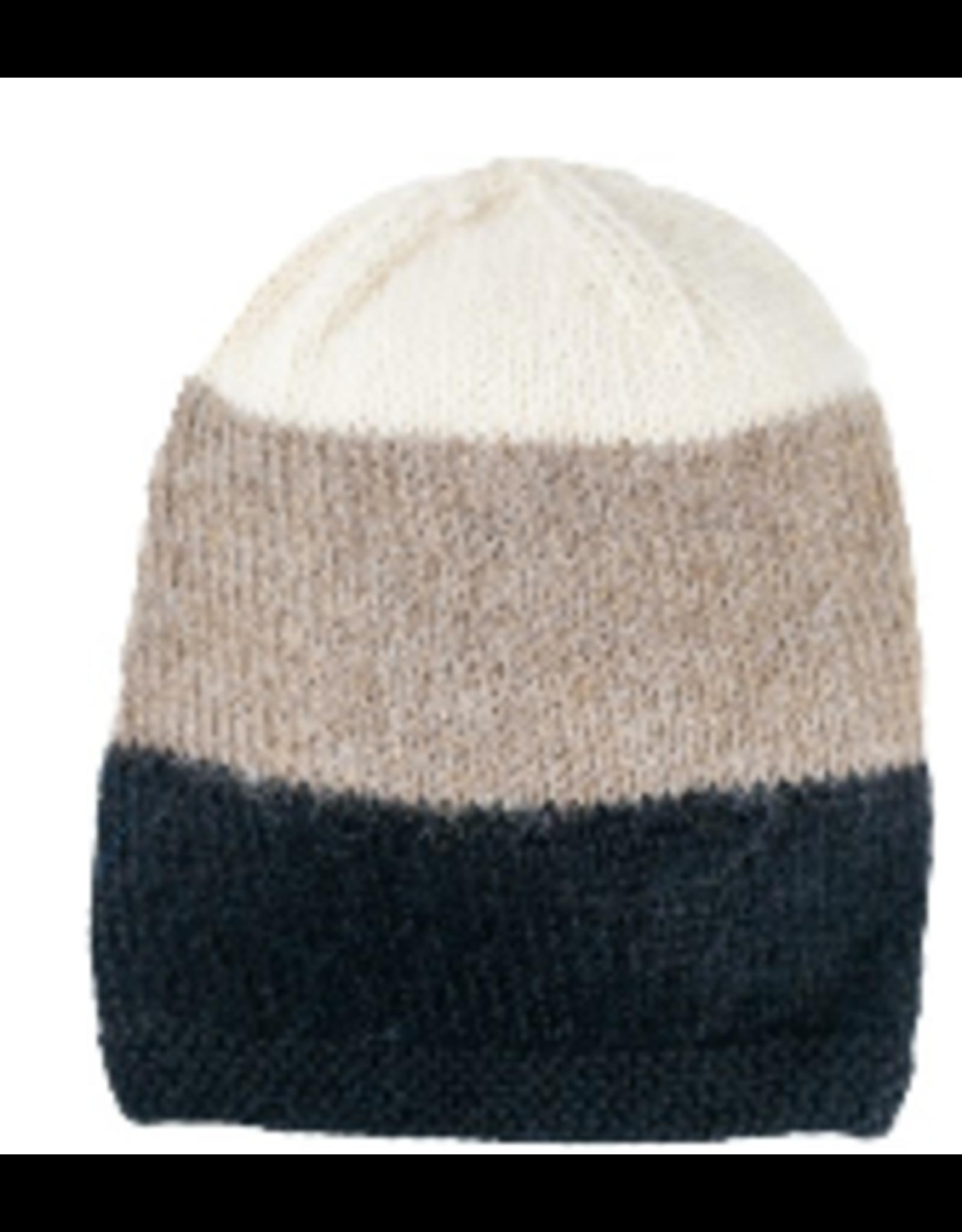 Tres Hat, Beige/Black,Peru
