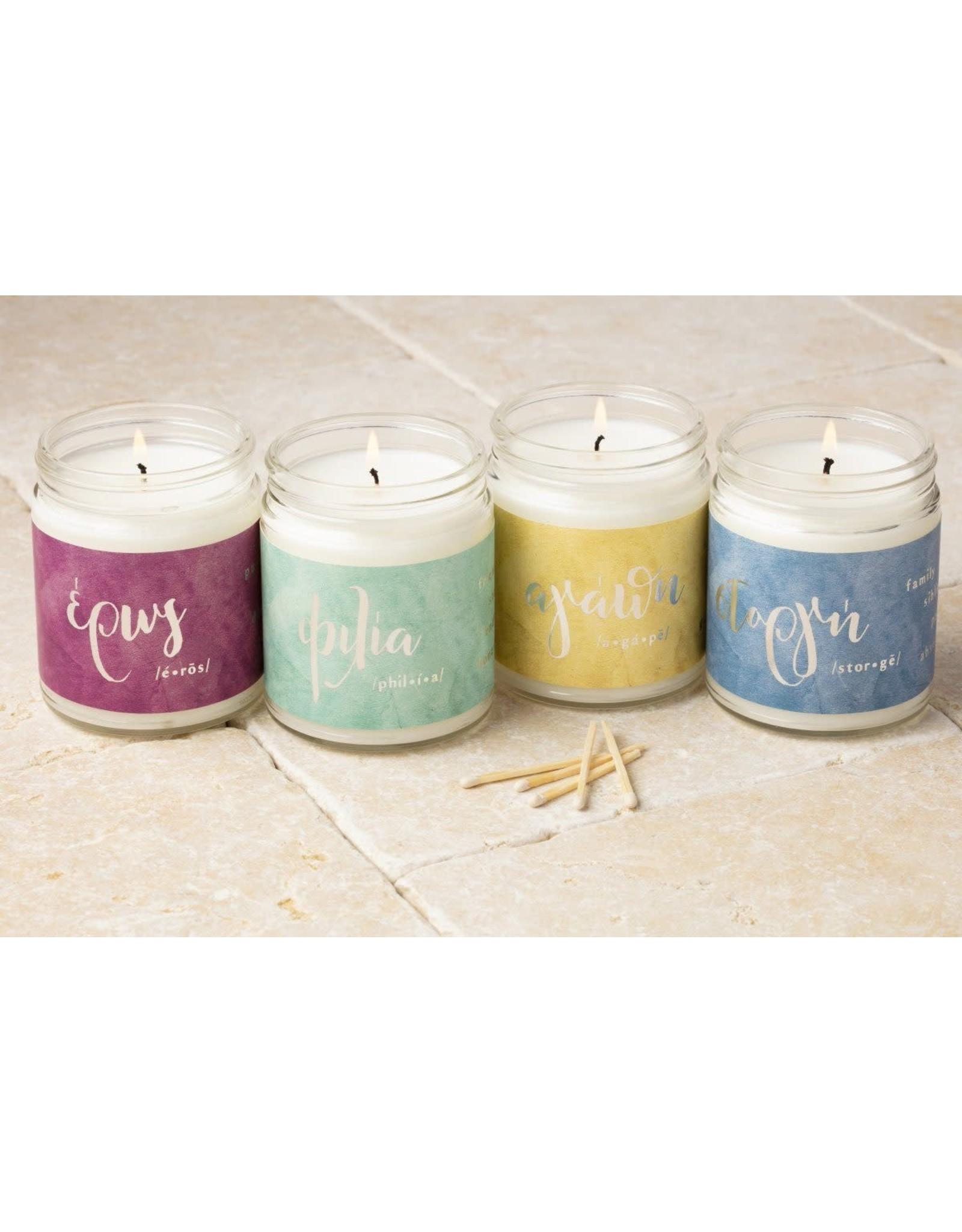 Greek Love Candles