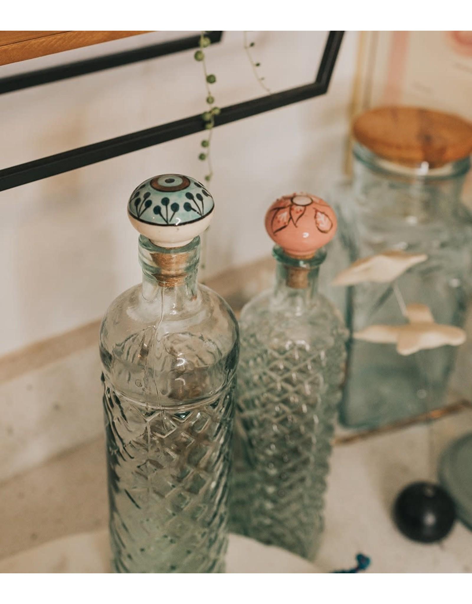 Jalini Wine Bottle Stopper, Assorted, India