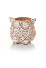 Terracotta Owl Planter, Bangladesh