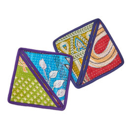 Kantha Pot Holder, India