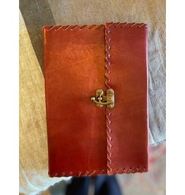 Leather Journal w/ Metal Latch, India