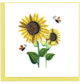 Sunflower Quilling Card, Vietnam