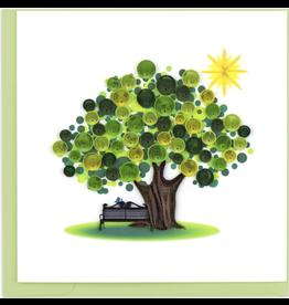Summer Tree Quilling Card, Vietnam