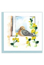 Mourning Dove, Quilling Card