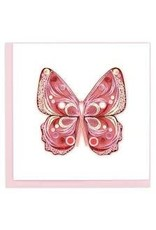 Joy to Life Pink Butterfly Quilling Card, Vietnam