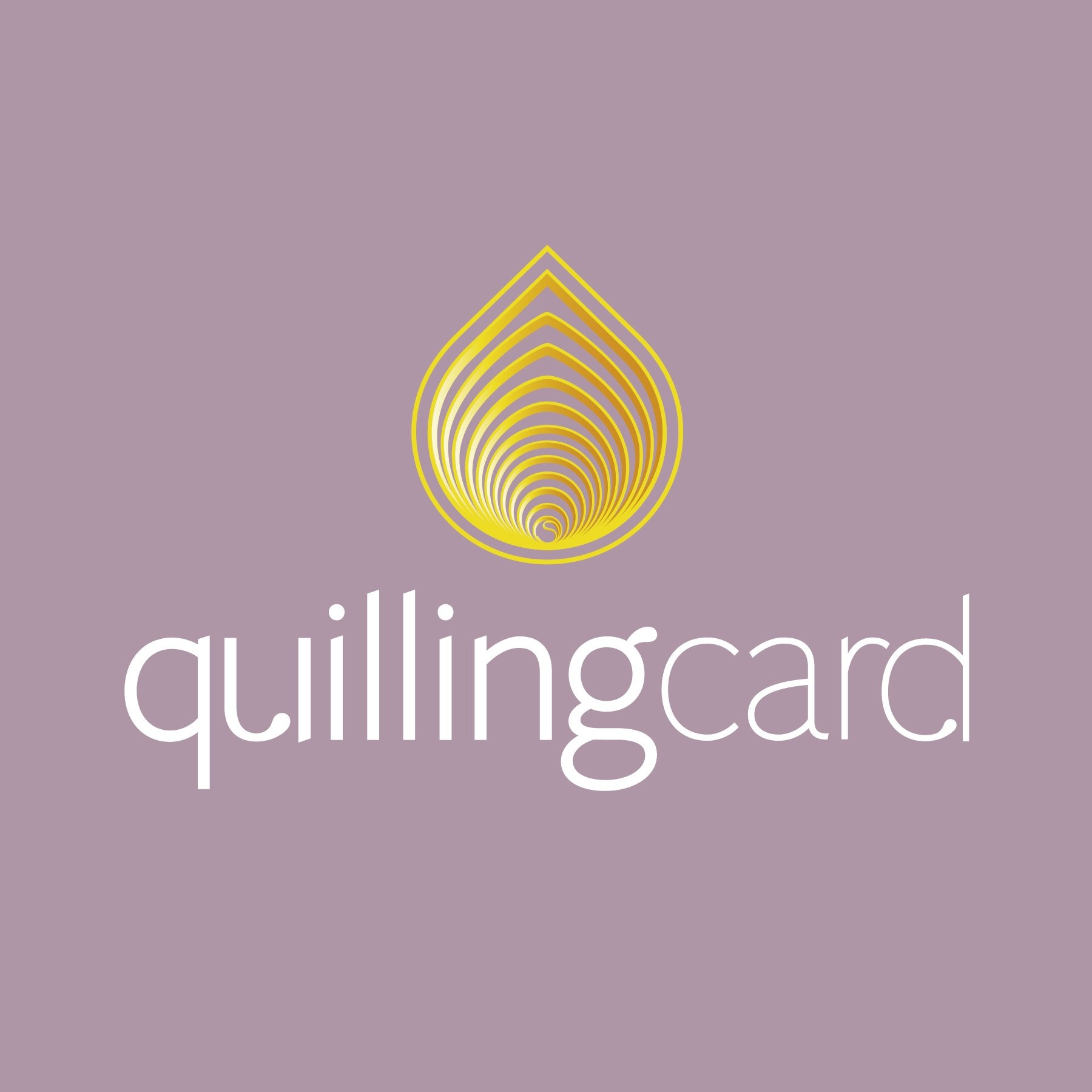 Meet our Vendors - Quilling Card