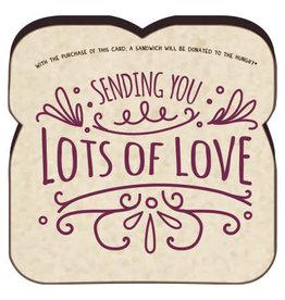 Sending You Lots of Love Card