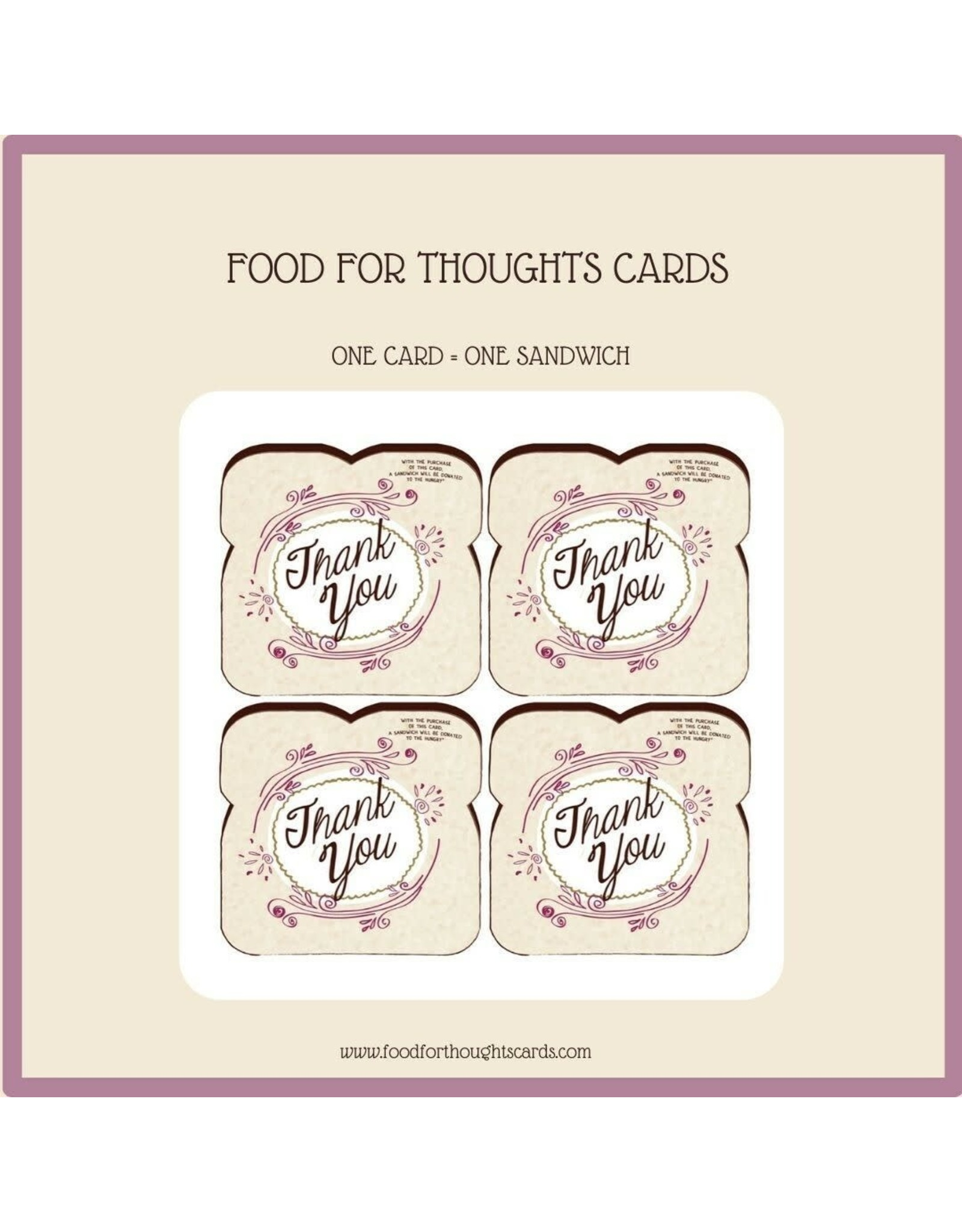 Thank You Cards 8-pack
