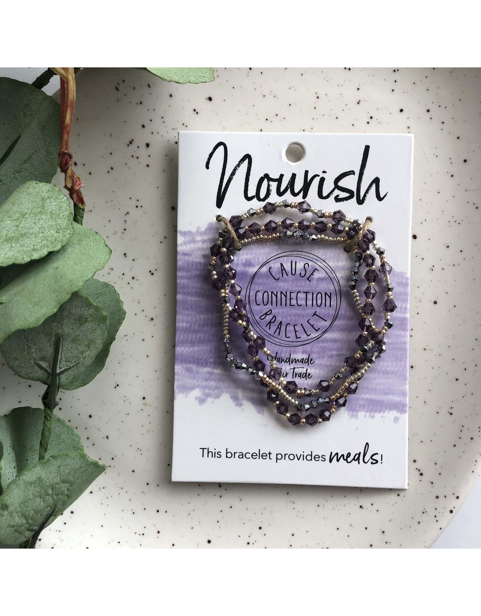 Cause Connection Bracelet, Nourish, India