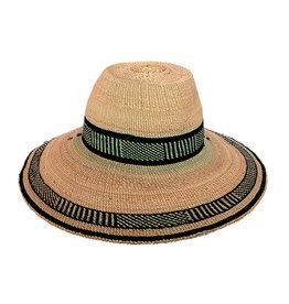 Bolgatanga  Woven Grass Sun Hat, Africa