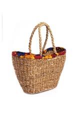 Sari Wrap Shopping Basket, India