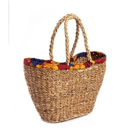Sari Wrap Shopping Basket, India