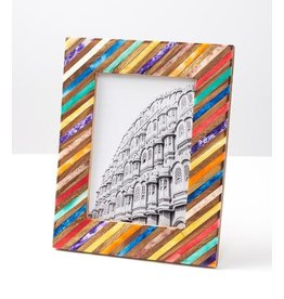 Banka Mundi Frame, 5 x 7, Multicolor, India