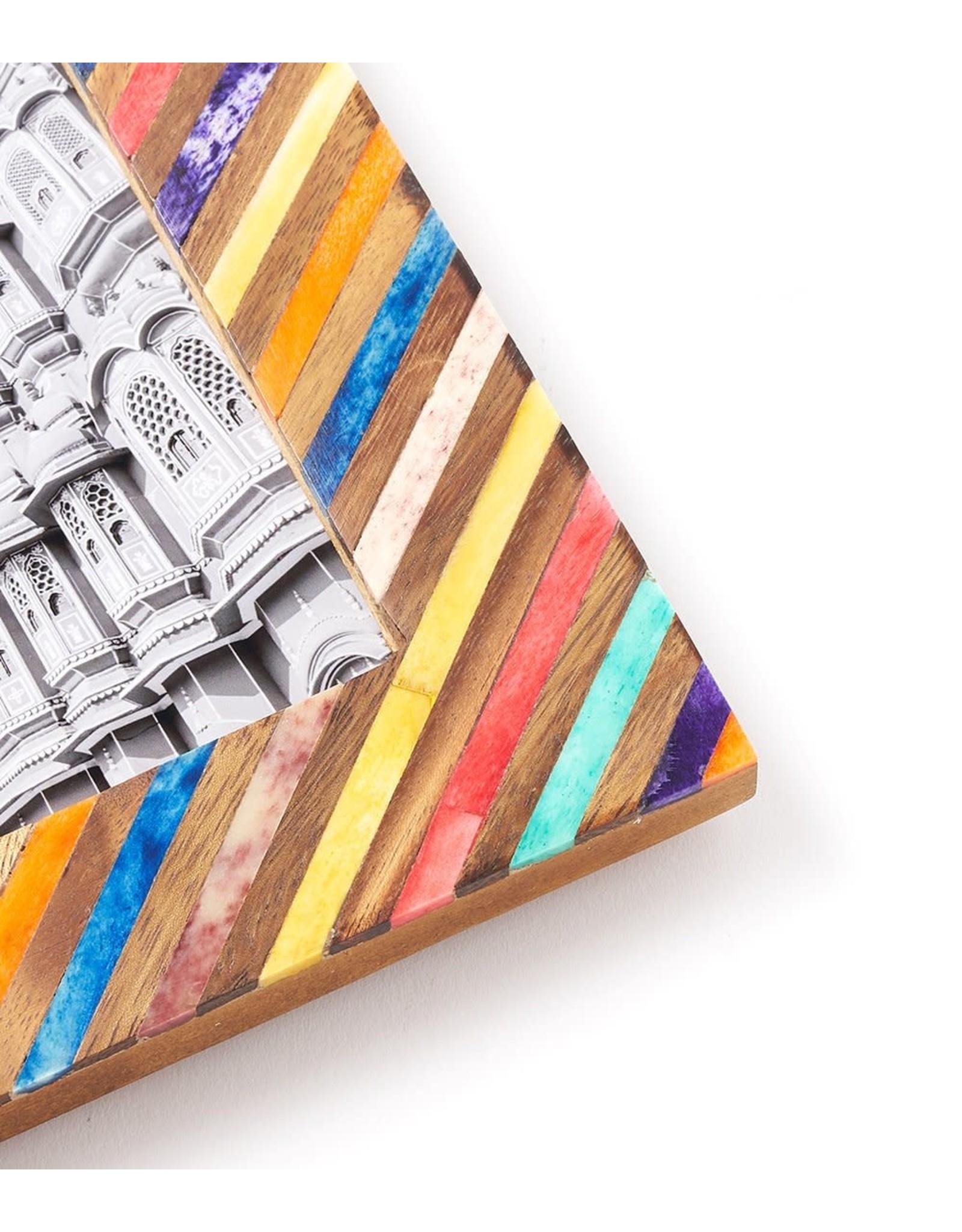 Banka Mundi Frame, 5 x 7, Multicolor, India