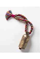 Rainbow Twist Bell Ornament  Multicolor, India
