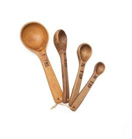 Laurelwood Measuring Spoons, Guatemala