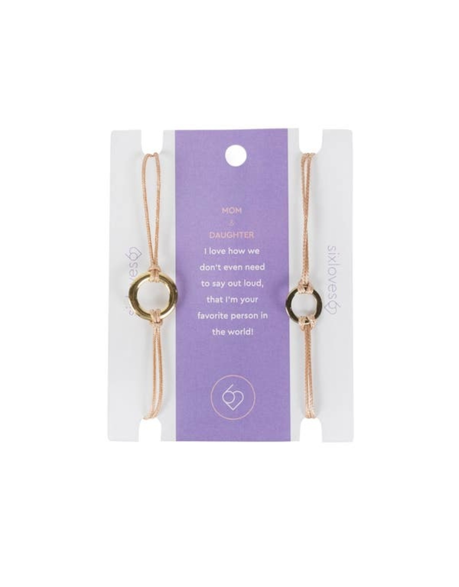 Carded Saying Bracelets Mother & Daughter, Columbia