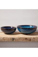 Lak Lake Ceramic Serving Bowls - Set of 2, Vietnam
