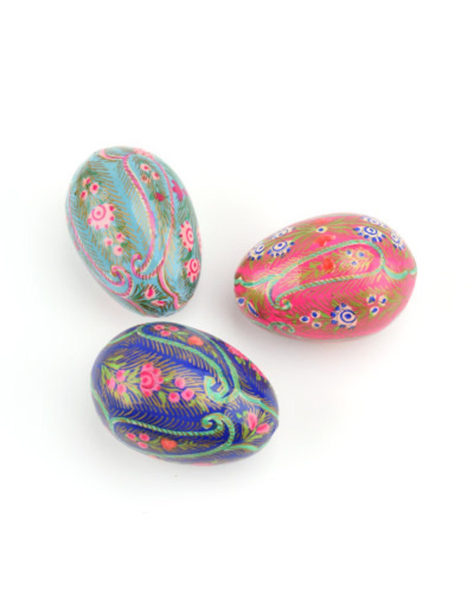 Feathered Paisley Kashmiri Eggs, India