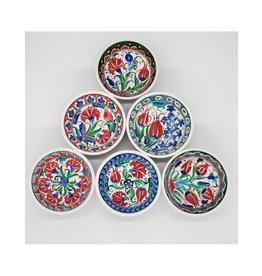 5' Hand painted Iznik Ceramic  Bowl,  Turkey
